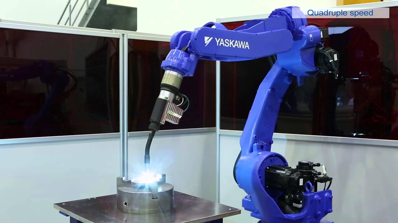 Yaskawa Brazing Giveaway With Motoman Ma1800 Youtube