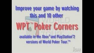 World Poker Tour PlayStation 2 Gameplay -