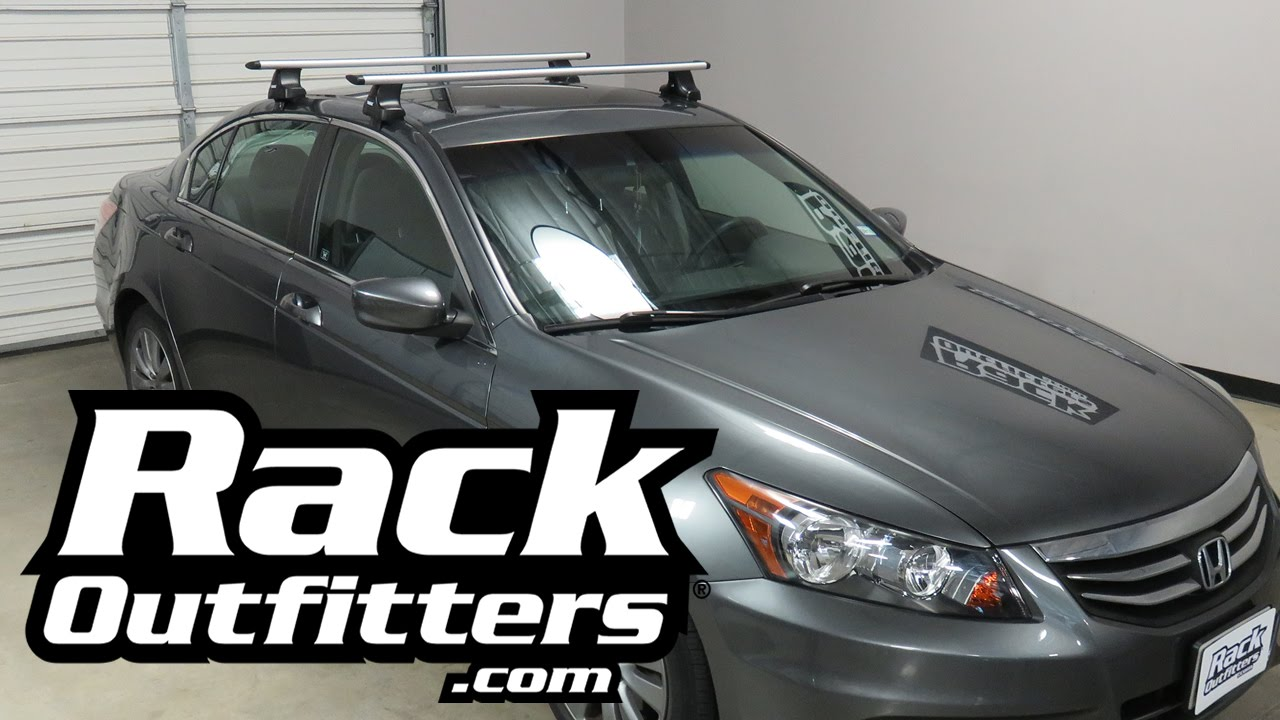 2008 2012 Honda Accord Sedan With Thule Rapid Traverse