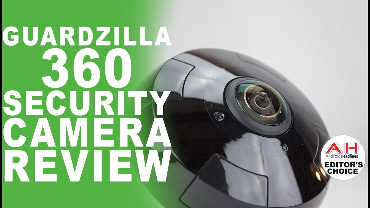 Guardzilla 360 Indoor/Outdoor Security Camera Review - See it All, All the  Time