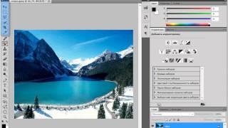 Обзор панели инструментов в Adobe PhotoShop CS5 (22/51)
