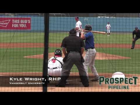Kyle Wright Prospect Video, RHP, Vanderbilt University