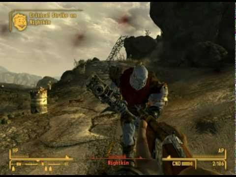 Fallout New Vegas Black Mountain Super Mutants Youtube