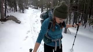 XC Skiing Adventure - Bighorn Mountains, Wyoming