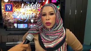 Datuk Seri Vida lancar lagu raya