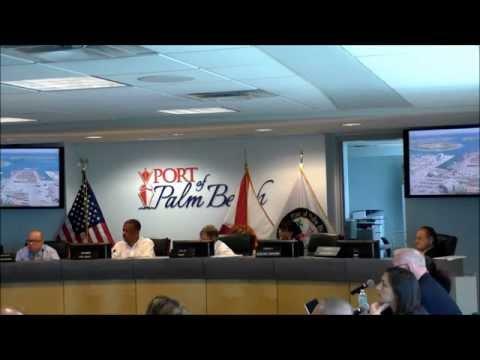 PORT COMMISSION MEETING 7 30 15