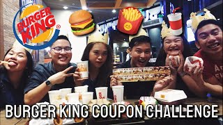 Baks: Burger King Coupon Challenge | Mukbang