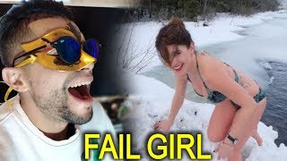 The Ultimate Funny GIRL FAILS  STUPID compilation 2019  Funny video