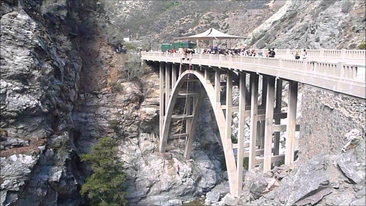 Welcome to Bridge to Nowhere   San Gabriel Mountains   California