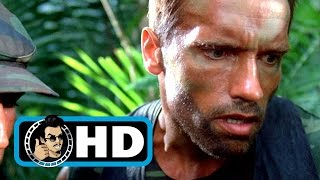 PREDATOR Movie Clip - Hawkins Death Scene (1987) Sci-Fi Action Movie |1080p HD|