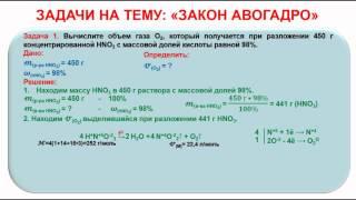 № 152. Неорганическая химия. Тема 17. Основные законы химии. Часть 7. Задачи на Закон Авогадро