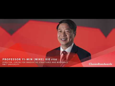 2017 Clunies Ross Innovation Award - Professor Mike Xie FTSE