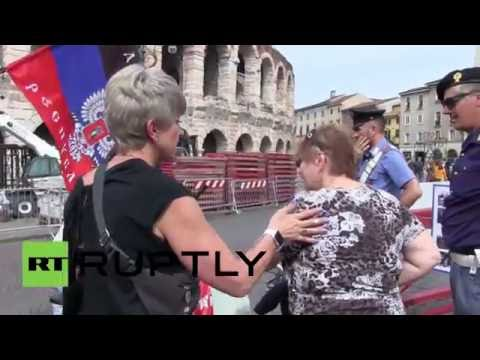 Italy: Veronese protest after Poroshenko made honorary citizen