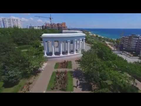 Черноморск / Ильичевск  полет над городом мечты.  Chernomorsk Flight Over The City Of Dreams.
