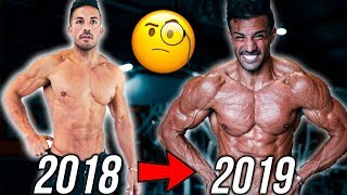 MY INSANE ONE YEAR TRANSFORMATION | HONEST COMPARISON