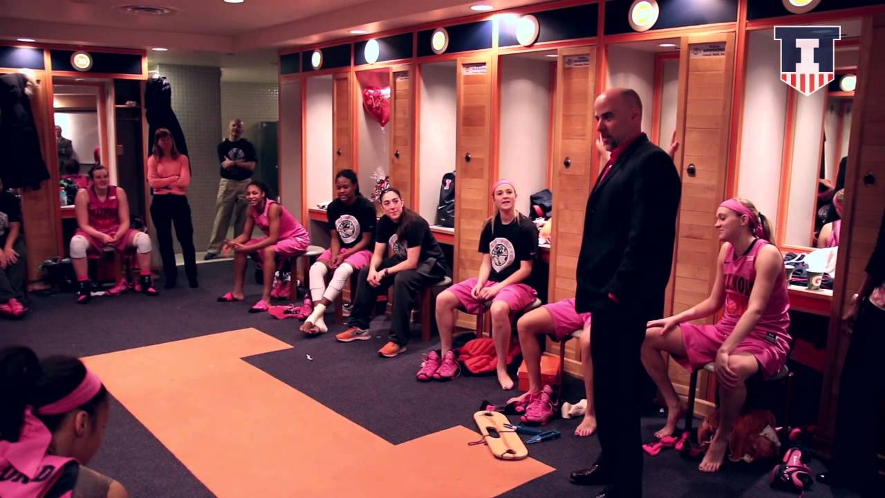 Illinois Women\'s Basketball vs Ohio State 2/14/15 Locker Room ...