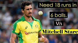 Need 18 runs in 6 balls vs Mitchell Starc | SL vs Aus | Cricket phoenix