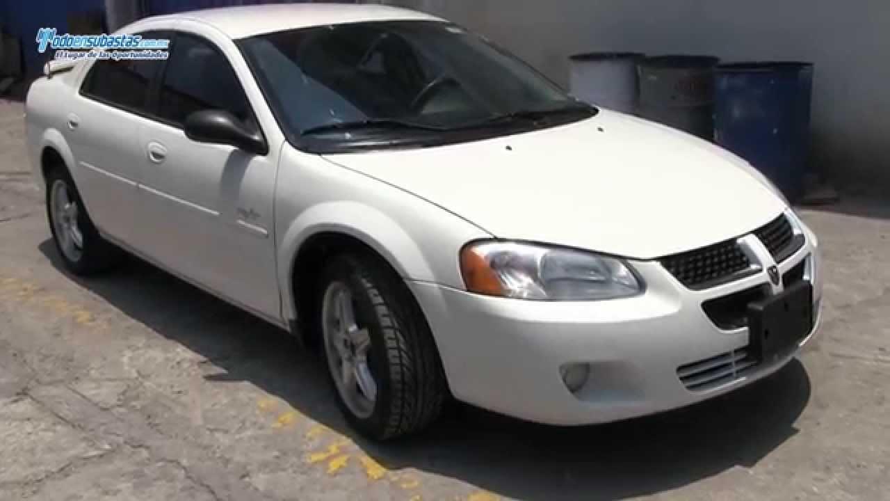 Dodge  Stratus RT Turbo AA CD Rines de Aluminio  2005  YouTube