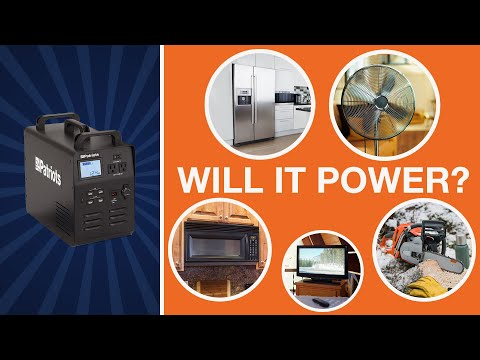 Patriot Power Generator – What Can My Generator Power?