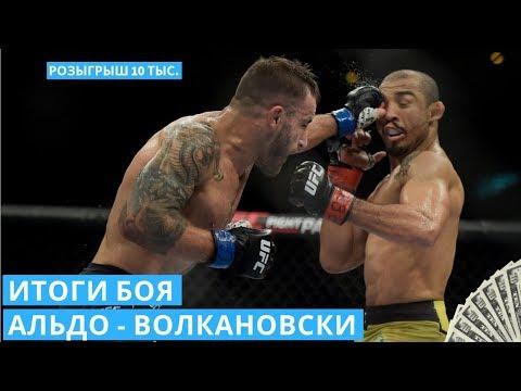 Итоги боя Жозе Альдо - Алекс Волкановски