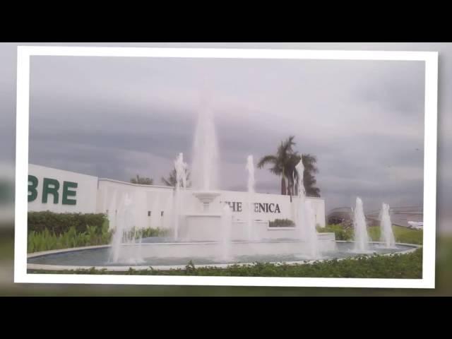 Đài phun nước nghệ thuật Khu biệt thư cao cấp  Venica - Khang điền