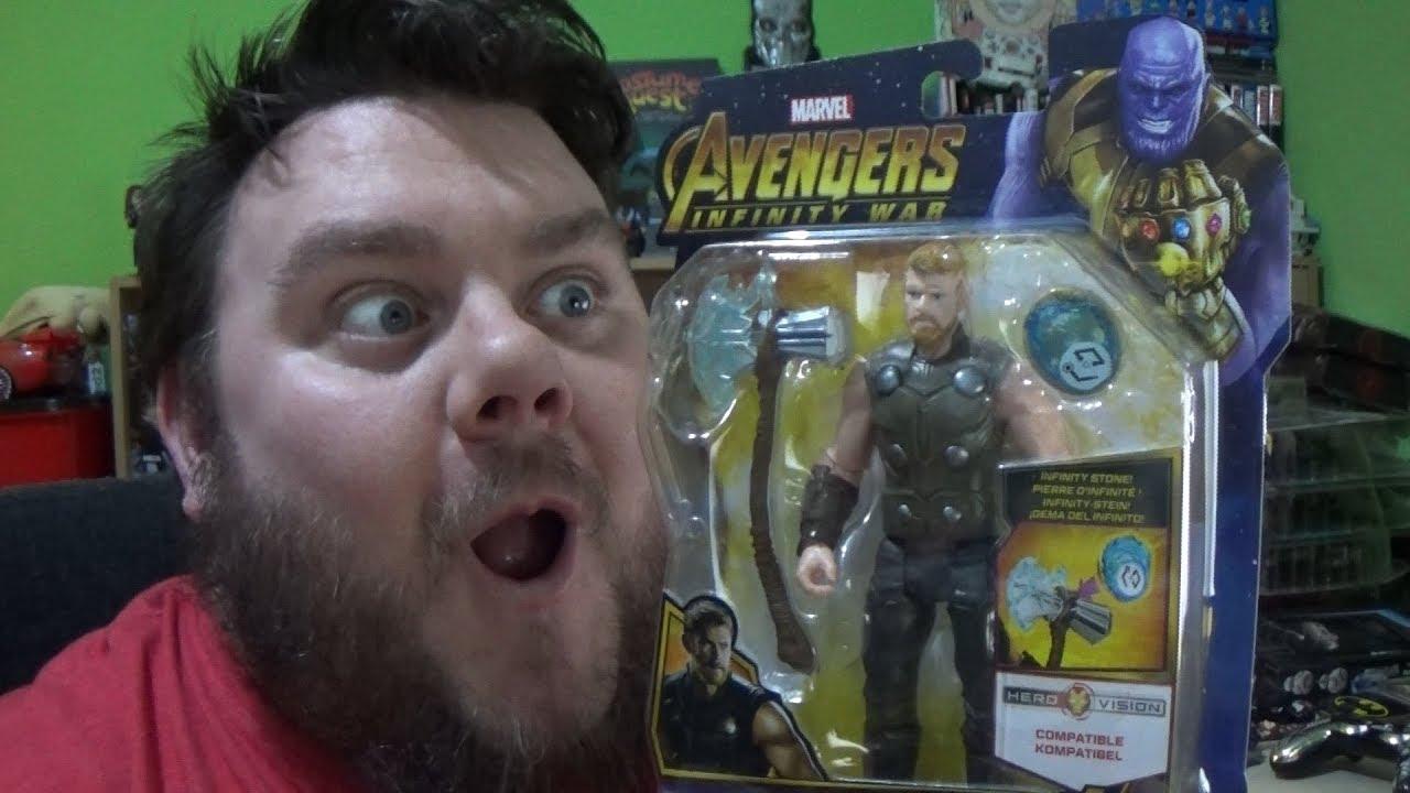 marvel avengers infinity war thor hasbro hero vision
