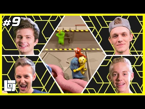 Gang Beasts met Milan, Jeremy, Ward en Quin | XL Battle | LOGNL #9