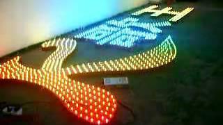 Full Colour LED диоды. Буквы на основе диодов Full Colour(, 2013-10-23T11:44:33.000Z)