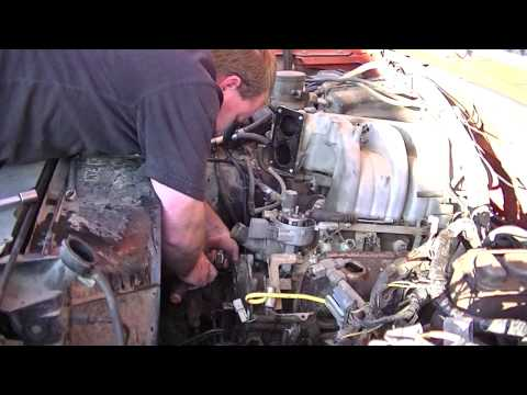 Prepping For Engine Removal