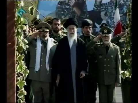 Ali Khamenei attends Army graduation ceremony at Imam Ali Military Academy - Iran