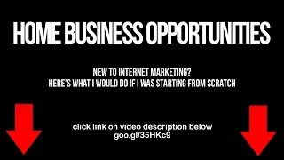 Home Business Opportunities In Australia
