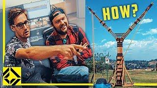 VFX Artists Have One Week to Make The World's Largest Slingshot!