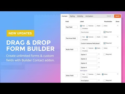 Contact - Themify Builder Addon