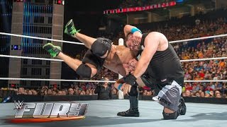 16 pump-handle neckbreakers, slams and throws: WWE Fury