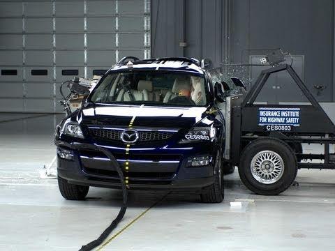 2008 Mazda CX-9 side test