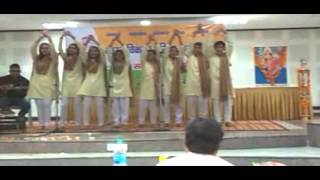 Best group song  Sanskrit  by Virender at Bharat Vikas Parishad