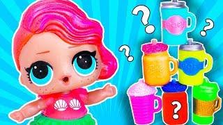 Кто СЛОМАЛ пирамиду из стаканчиков??? Куклы ЛОЛ СЮРПРИЗ и Colored Cups! Мультик Школа Для девочек