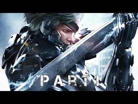 Metal Gear Rising Revengeance Gameplay/ Chapter 1- Guard Duty