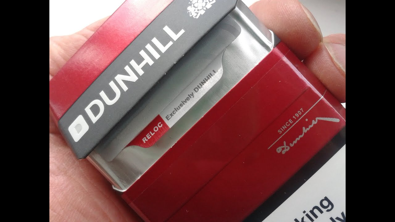 5b1298064 Dunhill Cigarette Review (Red, Blue, International) - YouTube