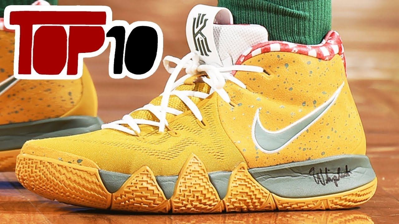 415a5b2d85e Top 10 Most Expensive Nike Kyrie 4 Shoes In 2018 - YouTube