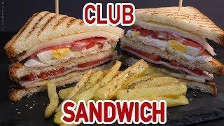 видео Сэндвич-гриль с ветчиной и помидорами