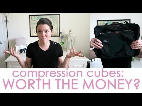 HONEST PACKING CUBE REVIEW: Eagle Creek Compression Cubes (CC)