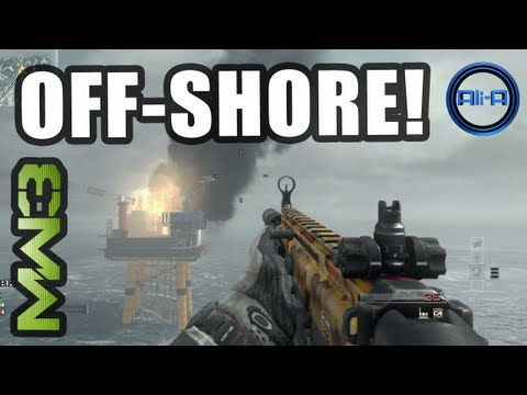 """NEW! MW3 """"OFF-SHORE"""" Gameplay - Multiplayer Map Pack DLC! (OffShore/Off Shore Modern Warfare 3)"""