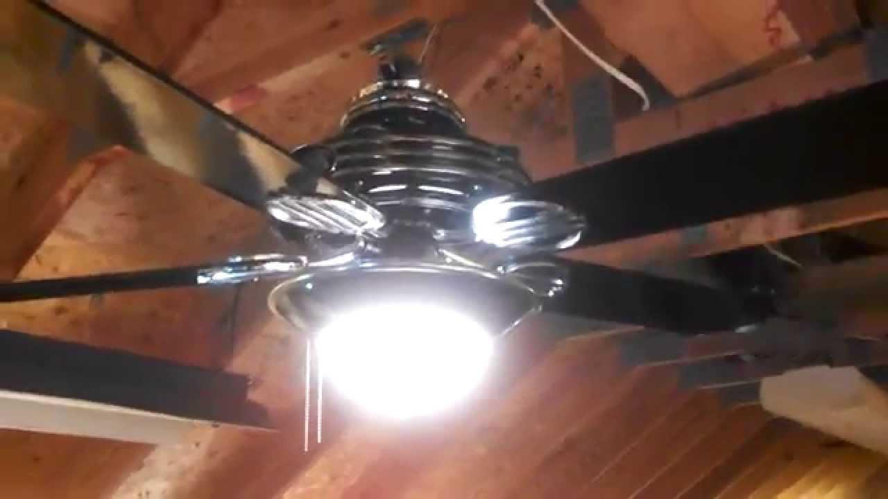 Hunter 1930s Original Ceiling Fan Model 23734 In Gloss