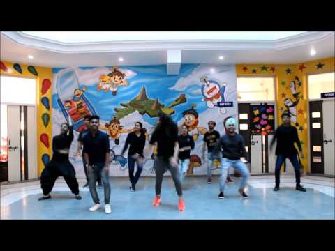 Laembadgini | Diljit Dosanjh |lyrical Bhangra [basic steps] choreograph , The Dance Mafia