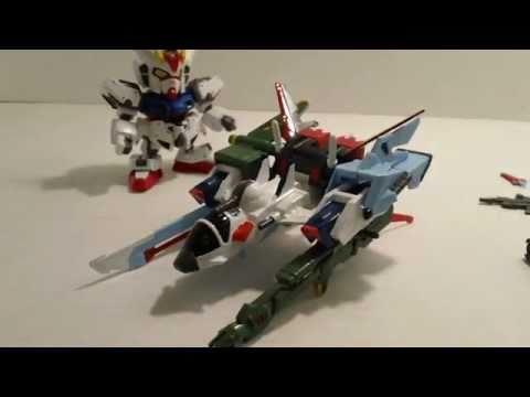 SD Strike Gundam Striker Pack Review