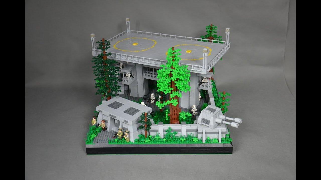 Lego Star Wars Moc Lądowisko Endor Odcinek 2 Imperialna Baza Na