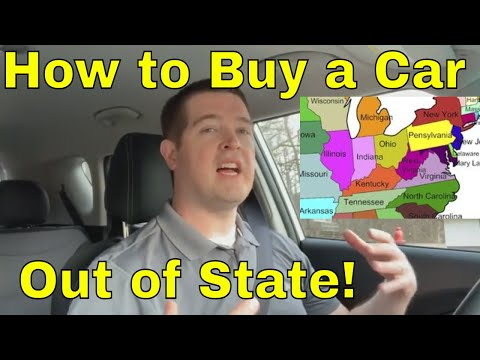 How to buy a new car from out of state dealer