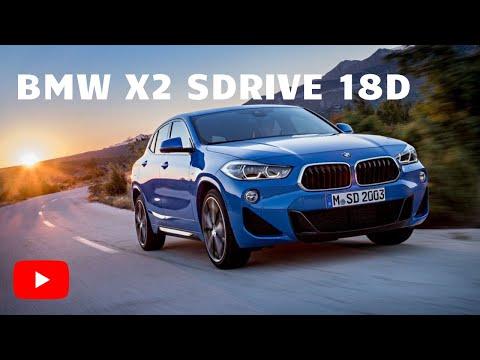 Interior del BMW X2 sDrive