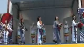"""Japanese Performing Ethiopian """"Kinet"""" Folklore Dance Perfectly!"""